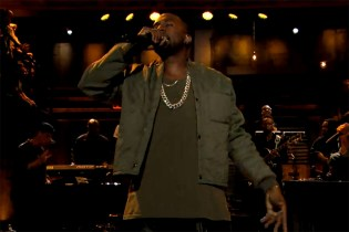 "Kanye West Performs ""Bound 2″ with The Roots & Charlie Wilson on Fallon"