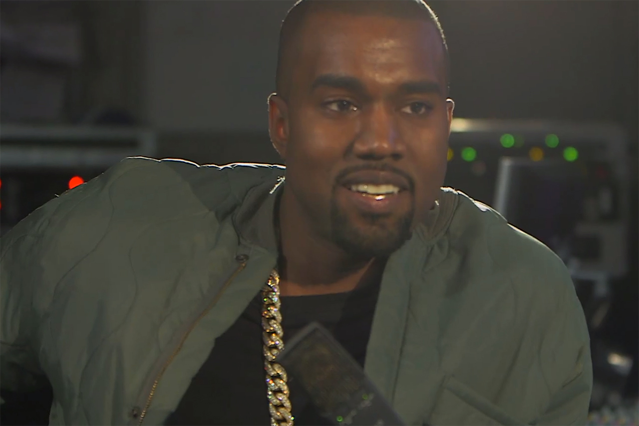 Kanye West Sits Down with BBC Radio 1's Zane Lowe - Part 1