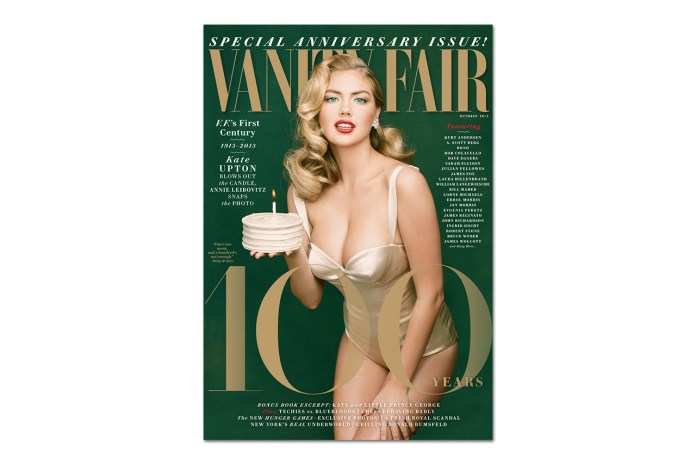 Kate Upton Covers Vanity Fair's 100th Anniversary Issue as Marilyn Monroe