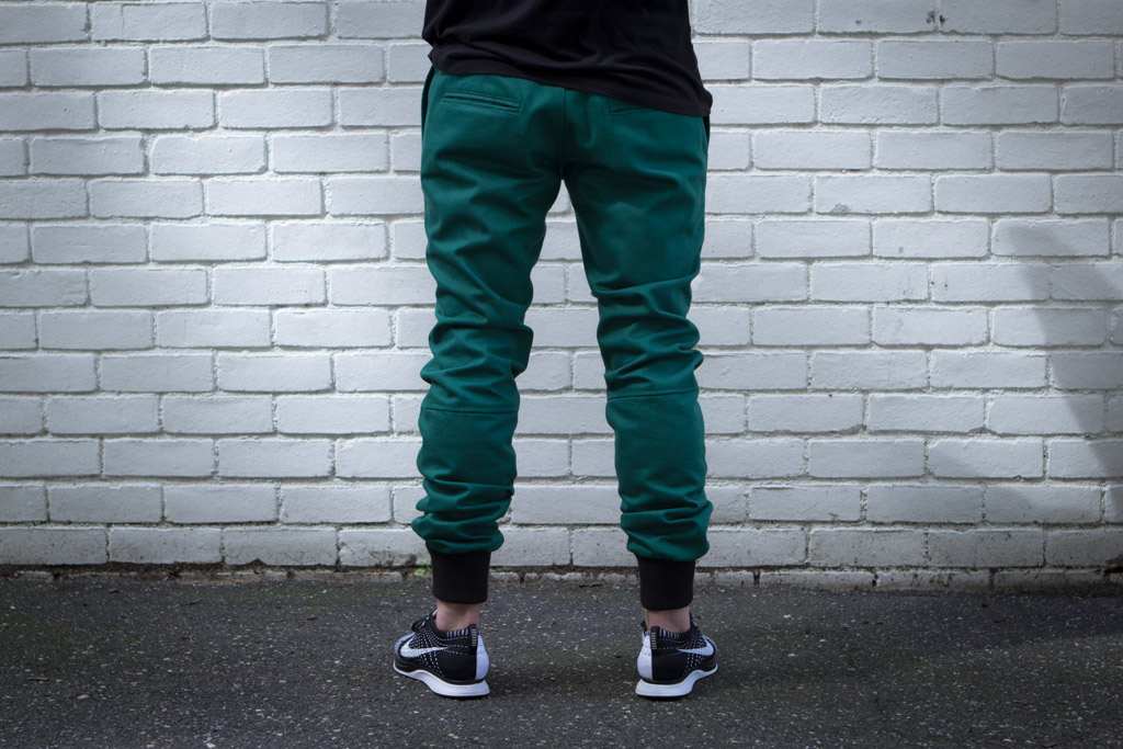 "Kith Kicks Off ""Mercer Mondays"" with the 20 oz Forest Green Mercer Pants"