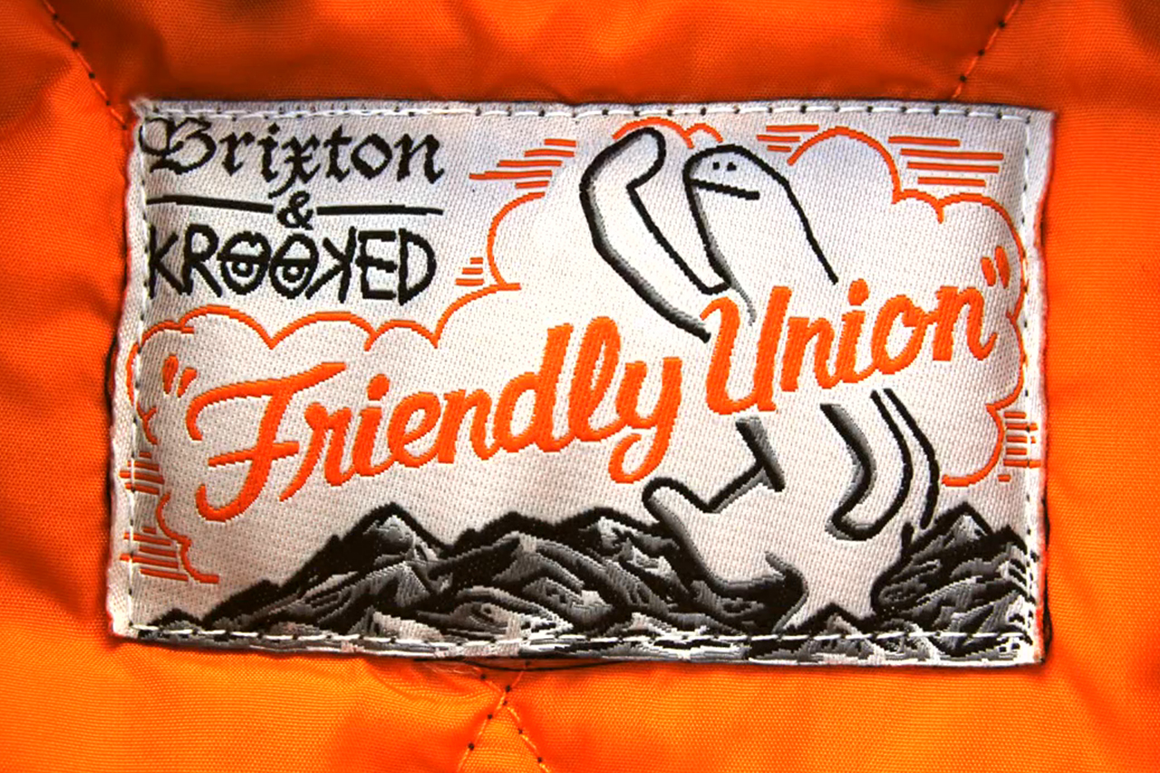 Krooked Skateboards & Brixton Present The Mission Jacket