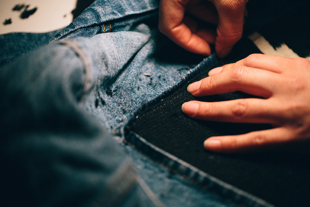 Levi's® Station to Station: Process with the Levi's® Tailor Shop