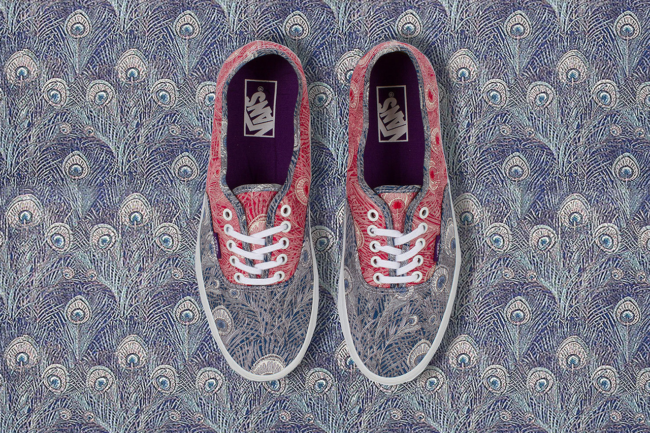 Liberty Art Fabrics x Vans 2013 Holiday Collection