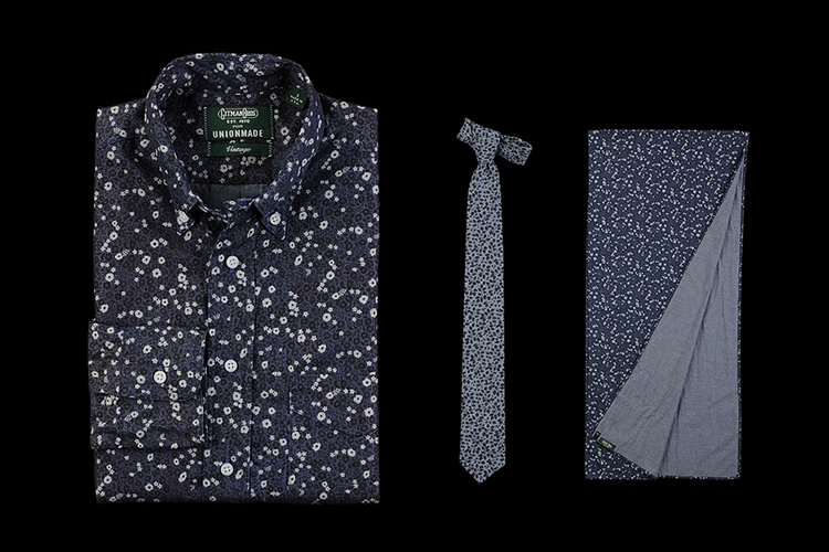 Liberty of London x Gitman Brothers for Unionmade 2013 Fall/Winter Collection