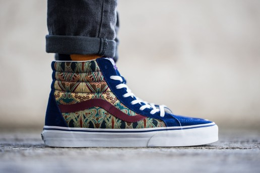 An Exclusive Look at the Liberty x Vans 2013 Holiday Collection