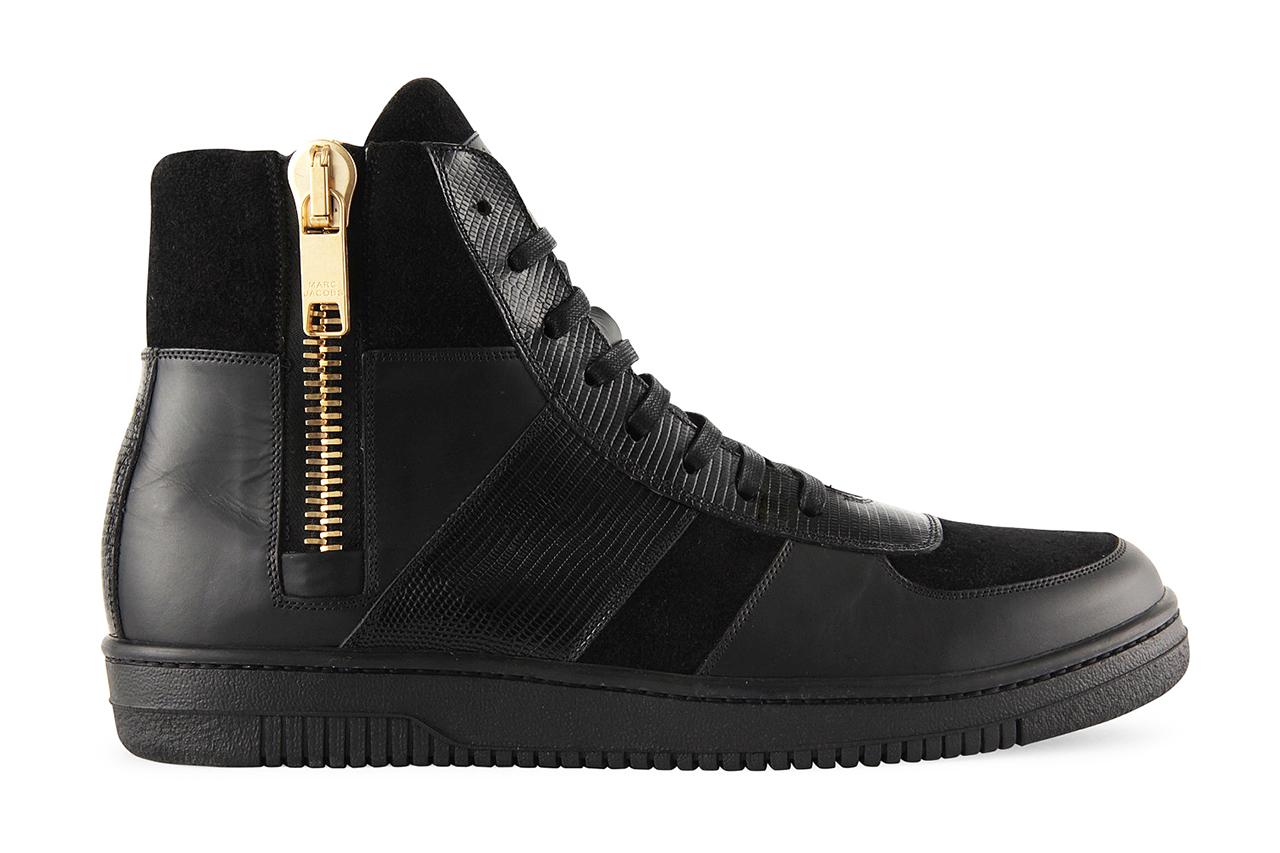 marc jacobs 2013 side zip sneaker