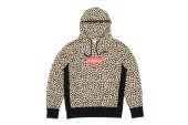 """Mark McNairy for Heather Grey Wall 2013 Fall/Winter """"Inferior"""" Leopard Hoodie"""