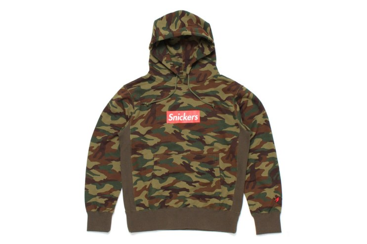"""Mark McNairy for Heather Grey Wall 2013 Fall/Winter """"Snickers"""" Camo Hoodie"""