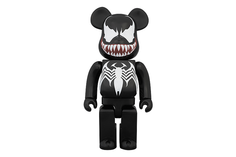 marvel x medicom toy 400 venom bearbrick