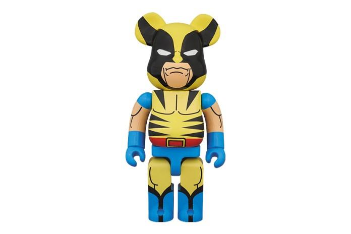 Marvel x Medicom Toy 400% Wolverine Bearbrick