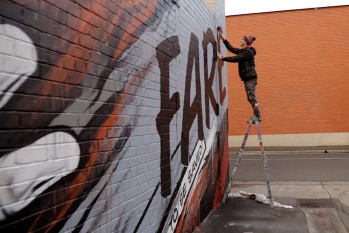 Meggs Paints Australia's Largest Charity Kitchen | Videos
