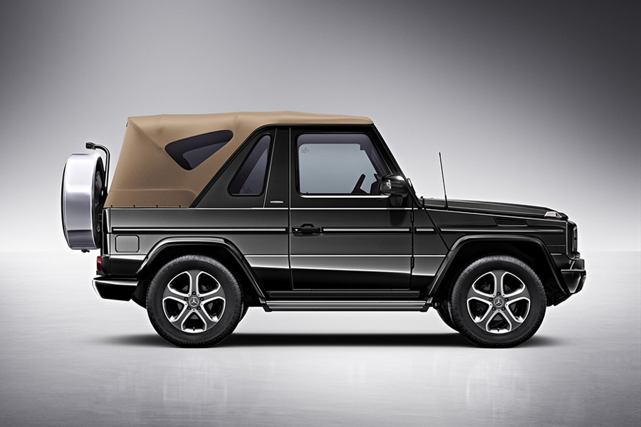 Mercedes-Benz Says Goodbye to the G-Class Cabriolet with the Final Edition