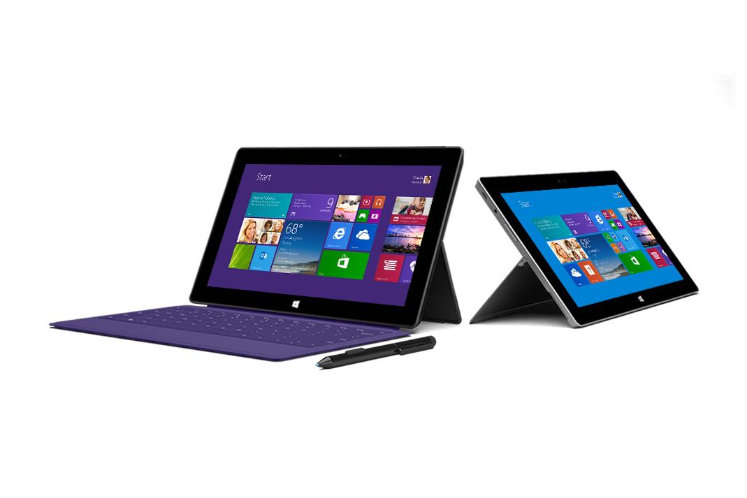 Microsoft Unveils Surface 2 & Surface Pro 2