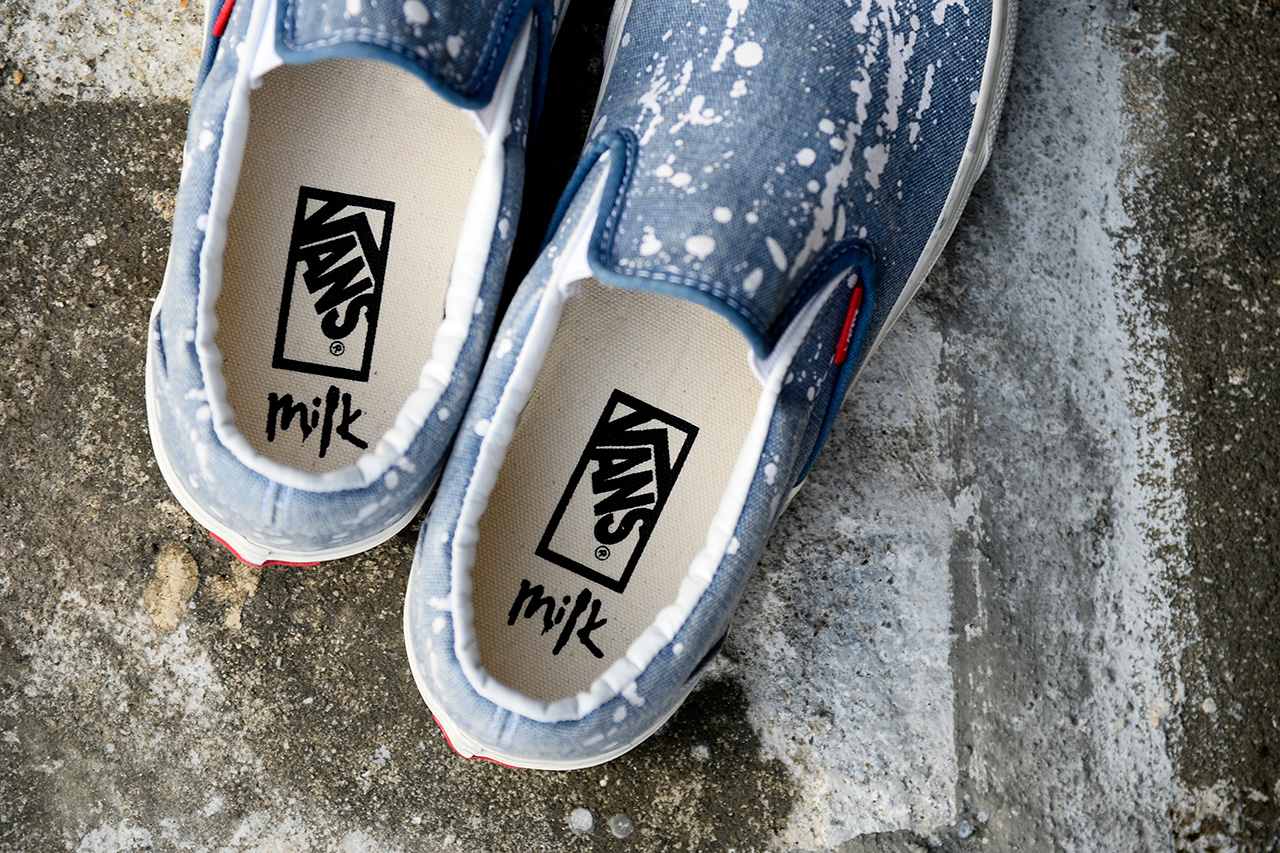 Milk Magazine x Vans Classics 12th Anniversary Collection