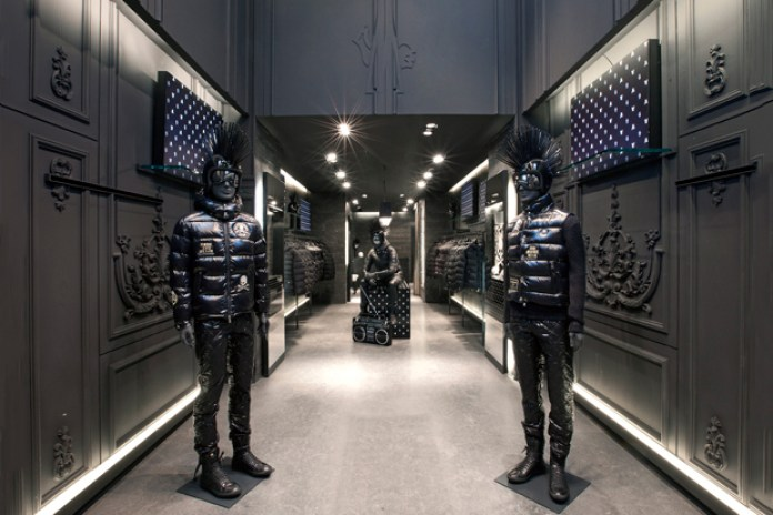 Moncler x mastermind JAPAN Paris Boutique
