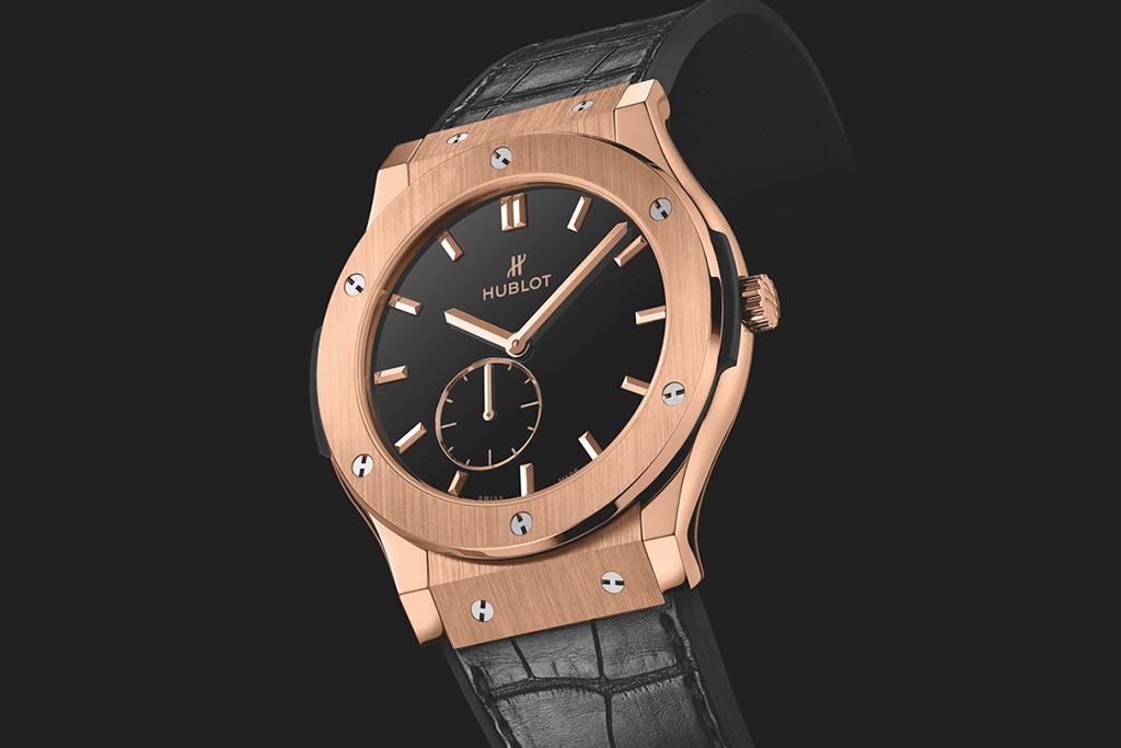 Nas' Custom Hublot Classic Fusion Ultra-Thin Timepiece