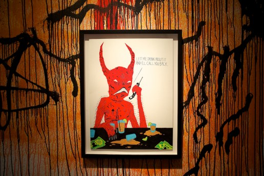 "Neck Face ""No Mercy For The Weak"" Exhibition @ New Image Art Gallery Recap"