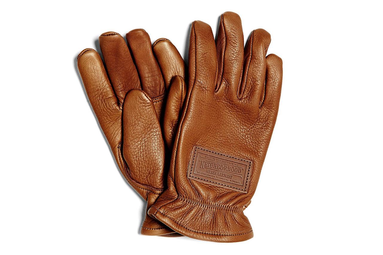 NEIGHBORHOOD 2013 BT Leather Gloves