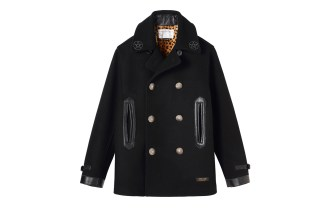 "NEIGHBORHOOD ""The Magnificient Seven"" Pea Coat for BLACK SENSE"