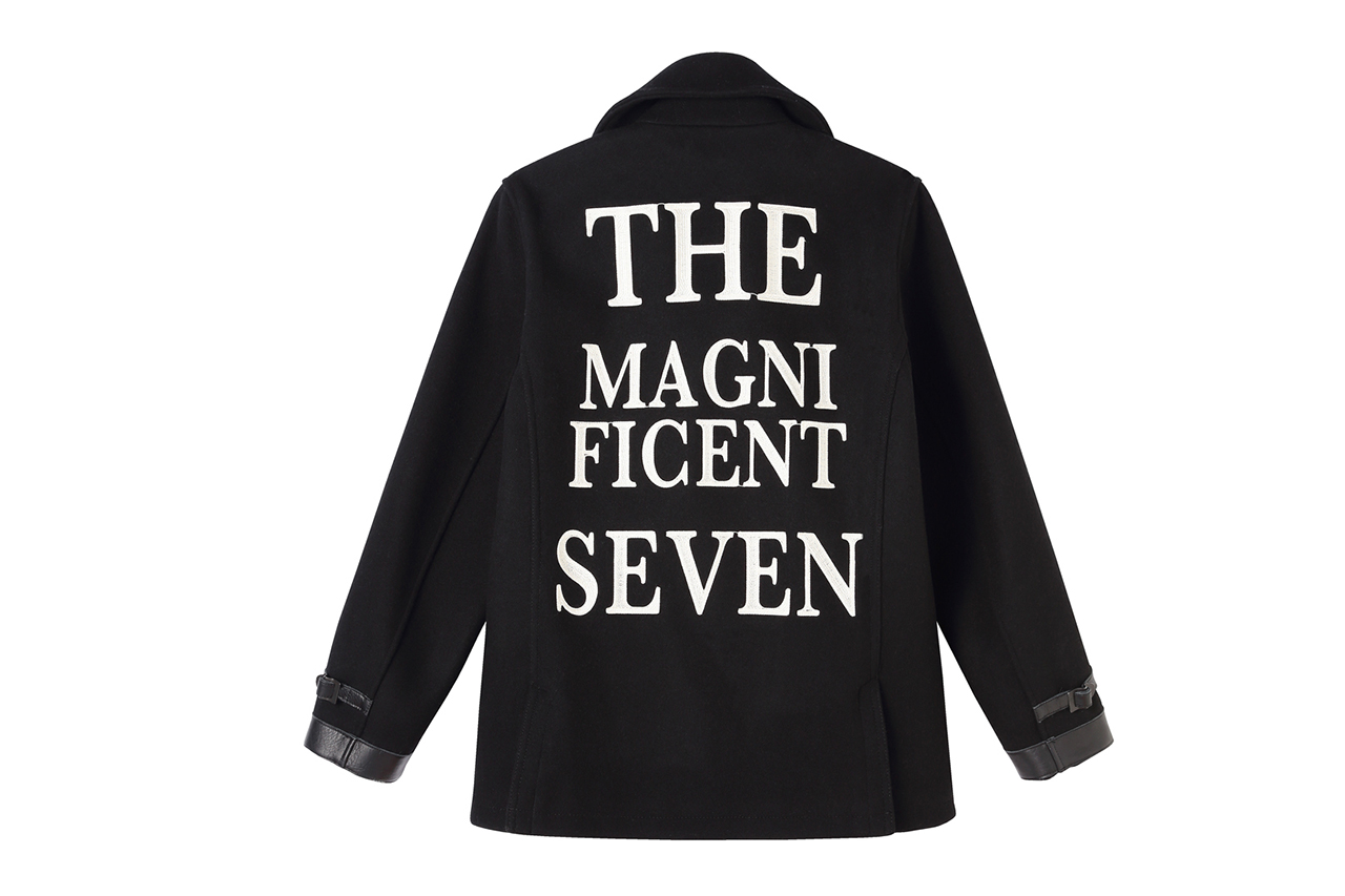 neighborhood the magnificient seven pea coat for black sense