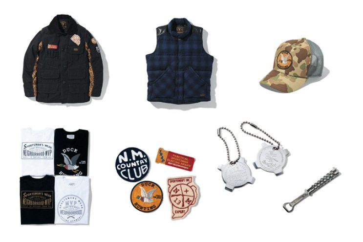 NEIGHBORHOOD x M.V.P. 2013 Fall/Winter Capsule Collection