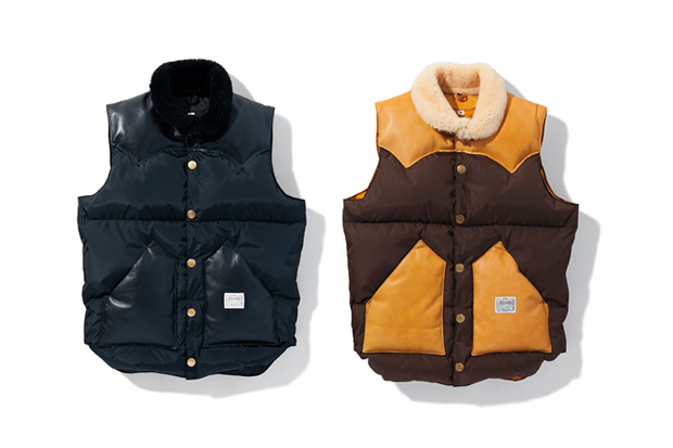 neighborhood x rocky mountain featherbed christy down vest