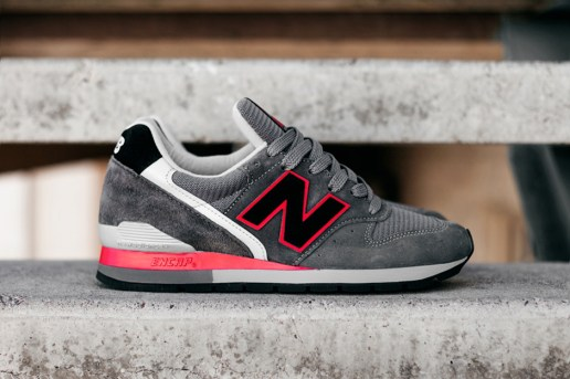 New Balance M996 Black/Grey/Red