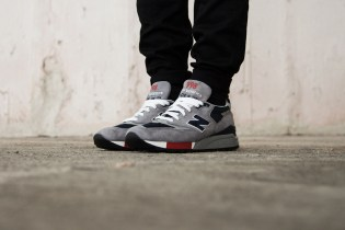 New Balance M998 Grey/Navy/Red