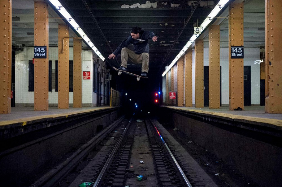 The New York Times Highlights New York Skate Photographer Allen Ying
