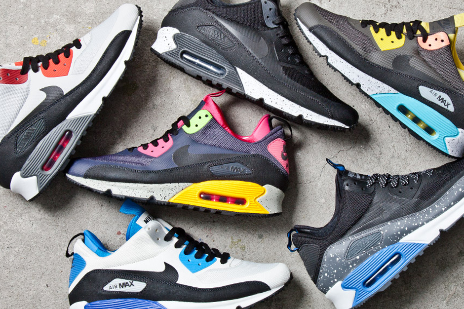Nike 2013 Air Max 90 SneakerBoot Collection