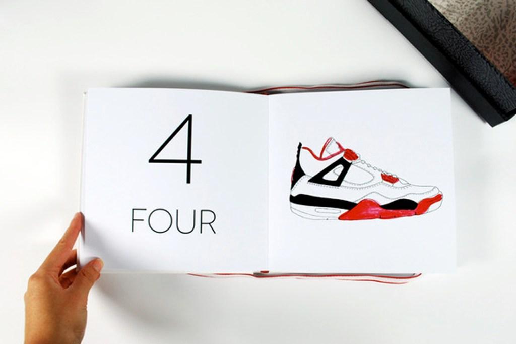 Air Jordan Counting Book by Jacinta Conza