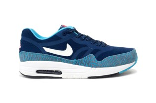 Nike Air Max 1 PRM Tape Brave Blue/Summit White-Black