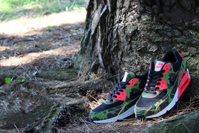 Nike Air Max 90 Premium Duck Infra Camo *atmos Exclusive