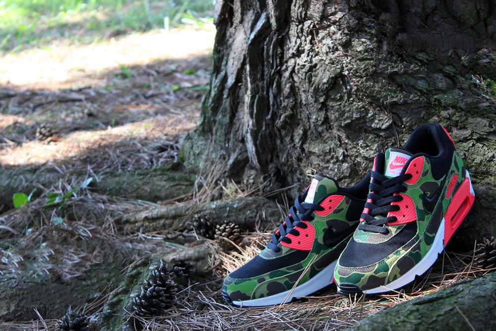 Nike Air Max 90 Premium Duck Infra Camo *atmos Exclusive
