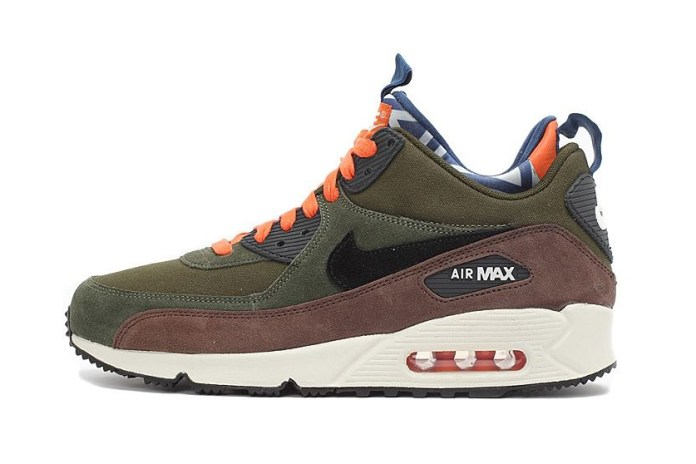 "Nike Air Max 90 Sneakerboot ""Legion Green"""