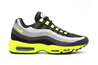 Nike Air Max 95 No Sew Black/Volt-Dark Charcoal-Midnight Fog