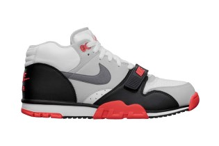 "Nike Air Trainer 1 Mid Premium QS ""Infrared"""