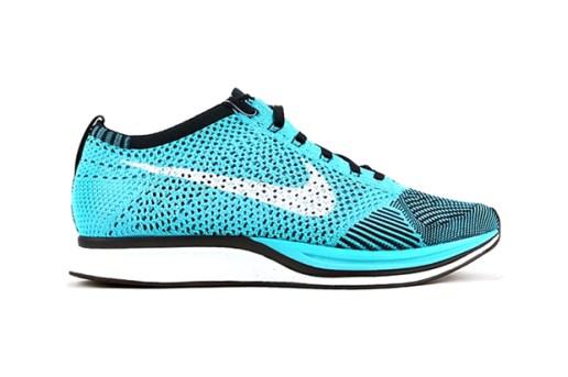 Nike Flyknit Racer Turquoise/White/Black