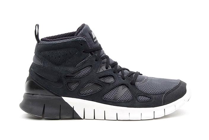 Nike Free Run+ 2 Mid Black/Summit White