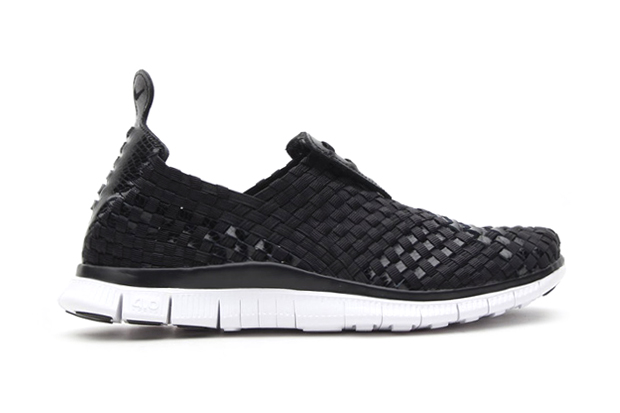 nike free woven 4 0 atmos exclusive black black orange blaze