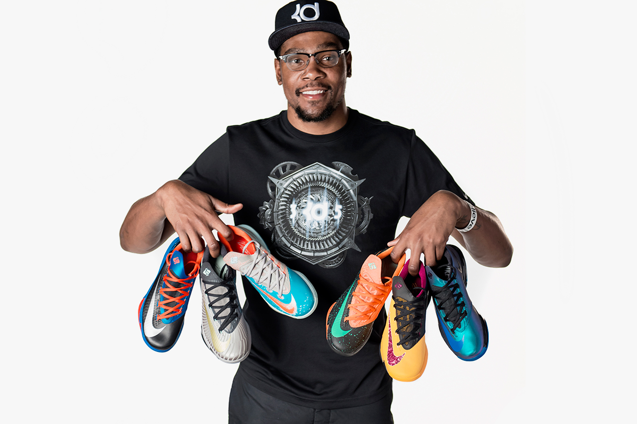 nike kevin durant offer a sneak peek at upcoming colorways of the kd vi