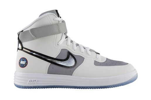 Nike Lunar Force 1 High WOW QS White/Metallic Silver