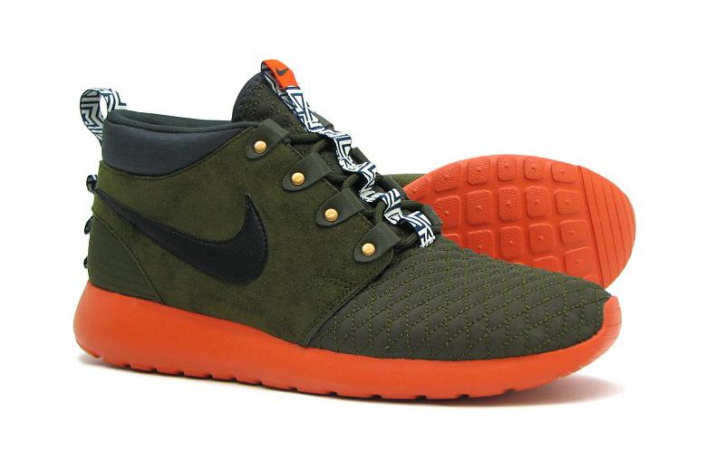 """Nike Roshe Run Sneakerboot """"Dark Loden"""""""