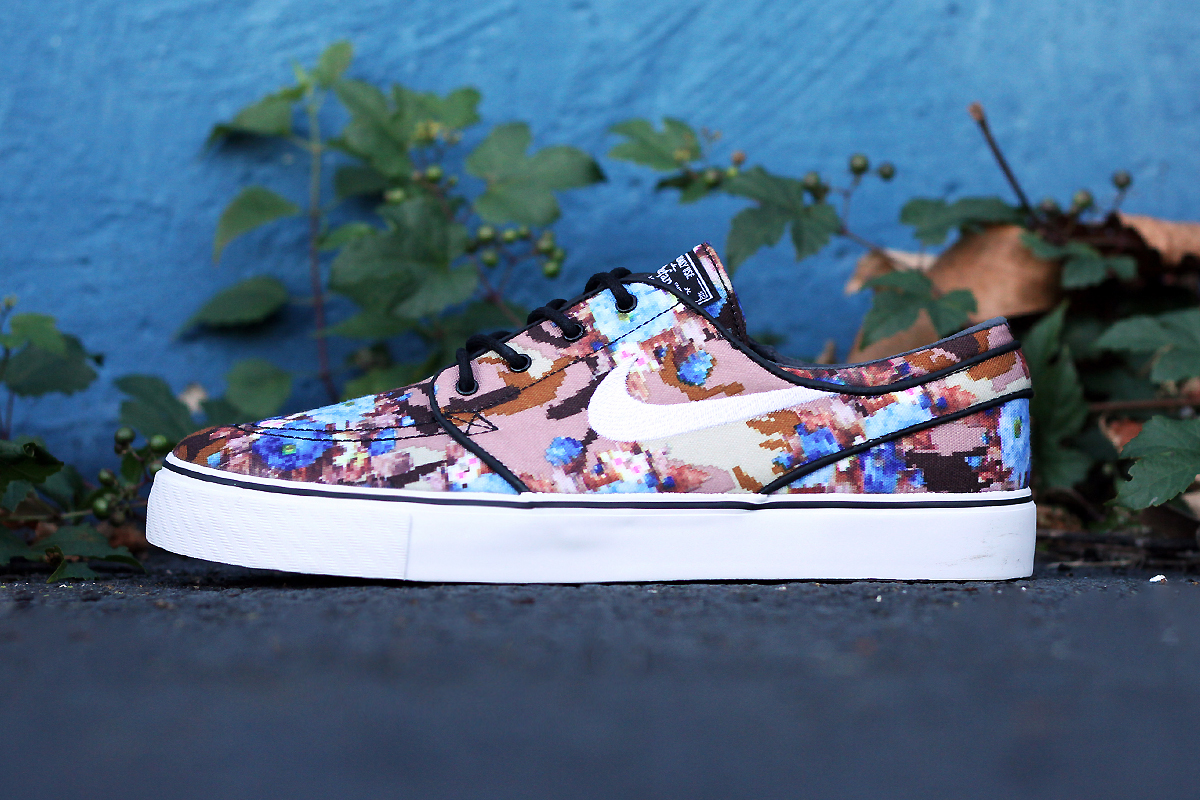 Nike Sb Shoes Blue Flowers