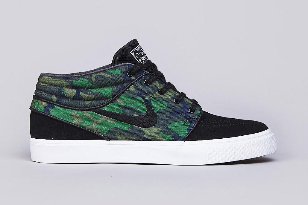 """Nike SB Zoom Stefan Janoski Mid """"Camo"""""""