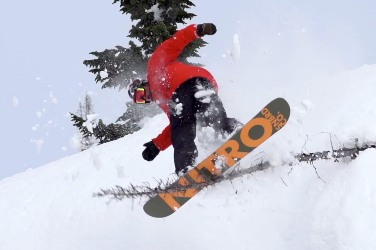 """Nike Snowboarding Presents """"Never Not"""" - Part 1"""