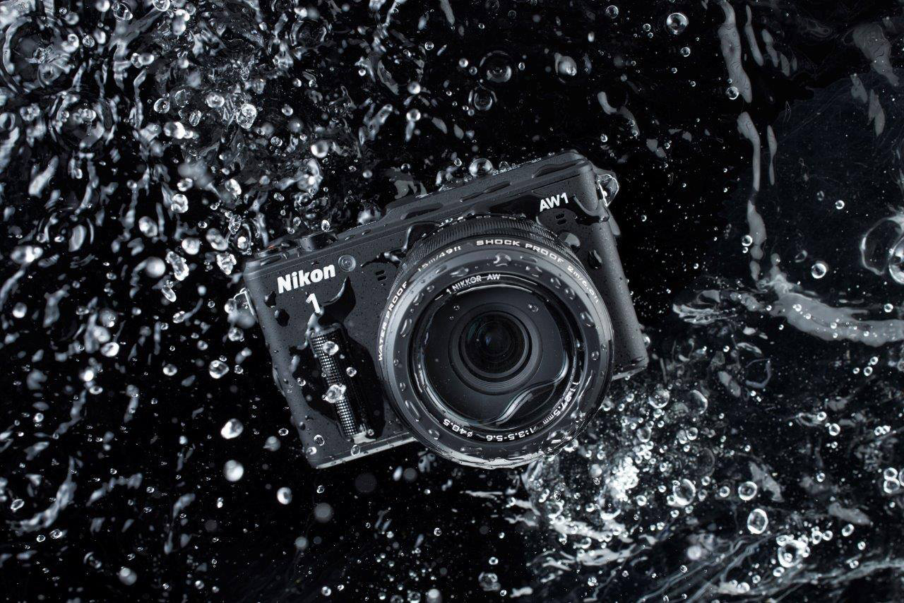 Nikon 1 Waterproof Compact AW1 Camera