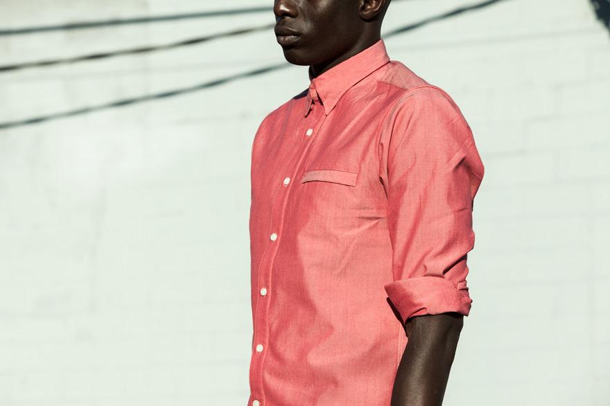 Outlier 2013 Fall Merino/Co Pivot Shirt