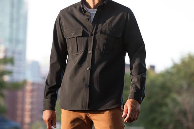 Outlier Ripstop Merino Heavy Shirt
