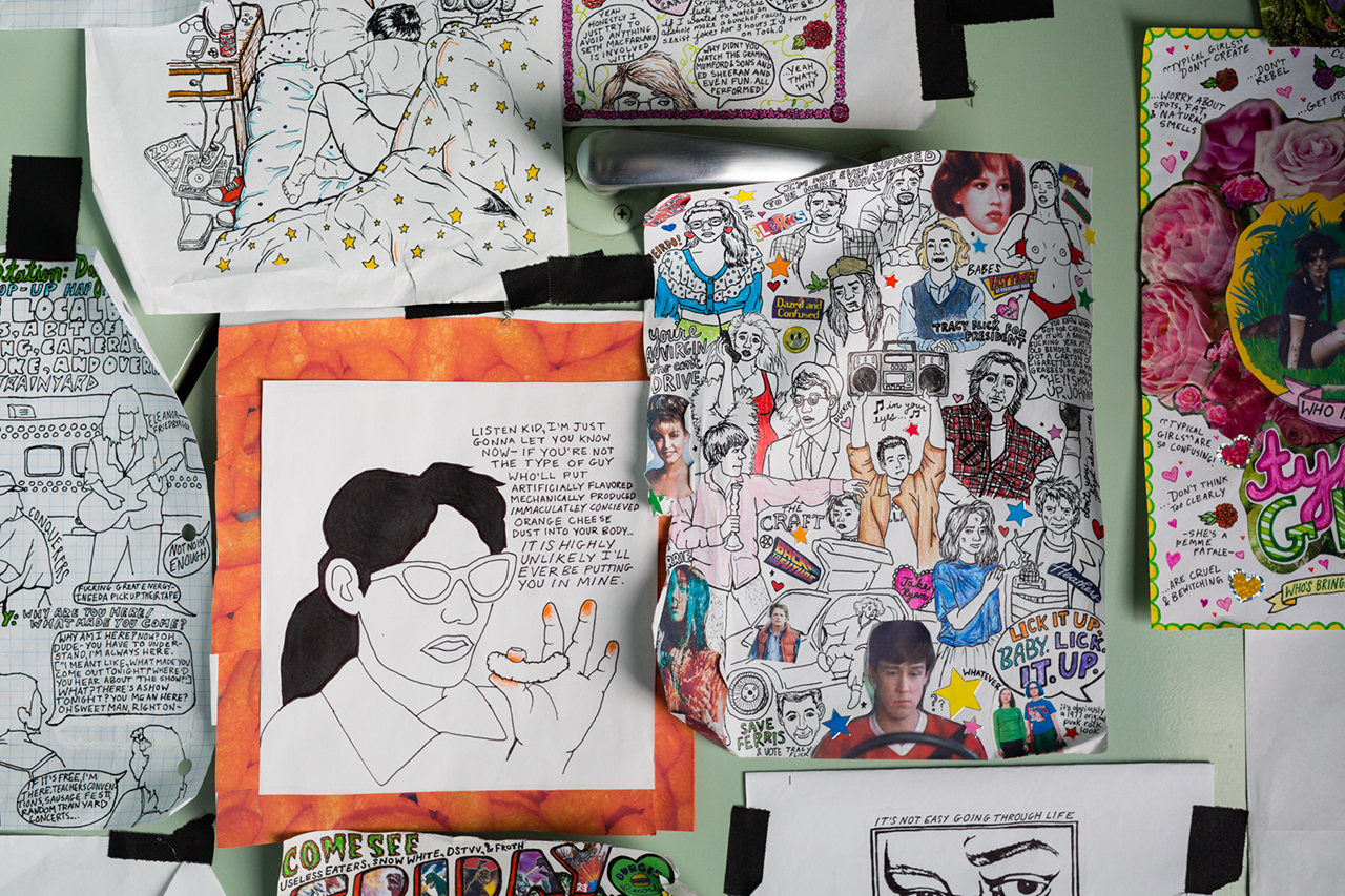 Pen & Paper: Taylor-Ruth of Hanging Rock Comics for Levi's Station to Station